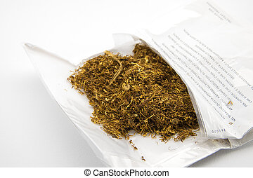 package of tobacco
