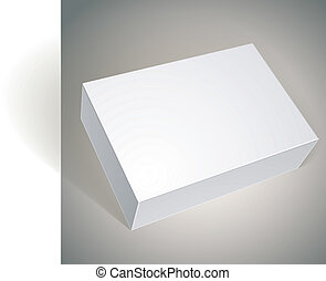 Vector blank round box template for your package design package white box design template for your package design put pronofoot35fo Images
