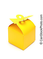 Package Yellow Box