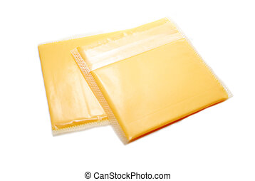 Packaged Processed American Cheese Slices