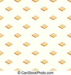 Packaging box pattern seamless vector