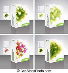 Packaging box. Usable for different business design.