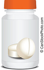 Packaging medicines - Packaging for medicines with a red ...