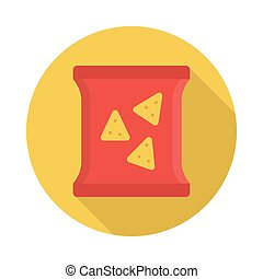 packet flat icon