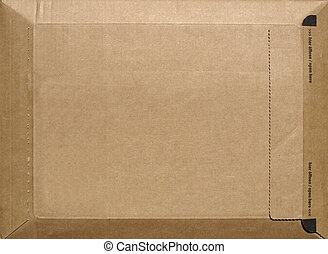 A small packet or parcel for mail shipping