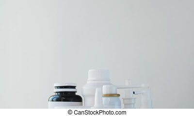 packs of different pills and medicine - medicine, healthcare...