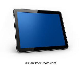 pad, tablet, landskab
