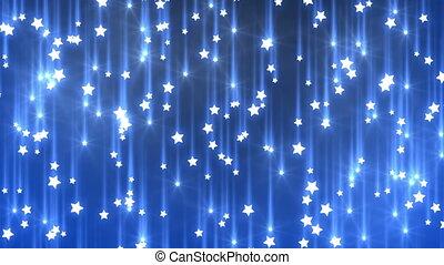 padające gwiazdy