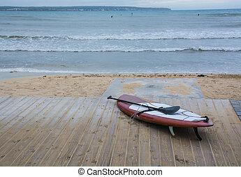 paddel, surfbrett