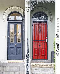 paddington, maison, terrasse, sydney