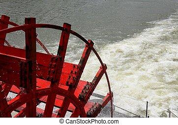 Paddle boat wheel