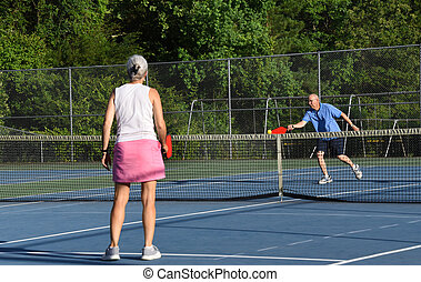Paddle Connects With Pickle Ball