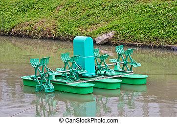 Paddle Wheel Aerator  - Paddle Wheel Aerator