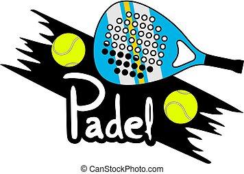 Padel symbol design