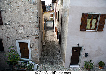 Padengha sul Garda castle - Padengha Sul Garda castle on...