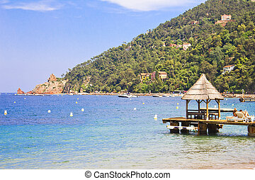 Padiglione, spiaggia