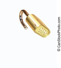 Padlock - A security device designed to keep honest folk out...