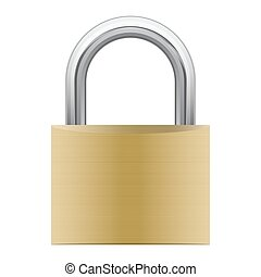 padlock attached
