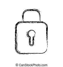 padlock icon image