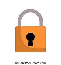 padlock lock security protection symbol