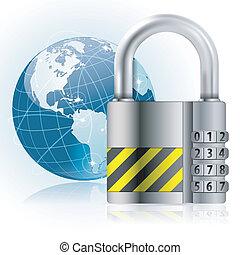 padlock, segurança