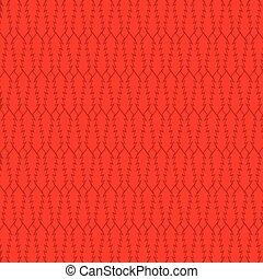 padrão, árvore, abstratos, criativo, vermelho