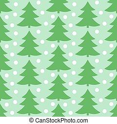 padrão, árvores natal