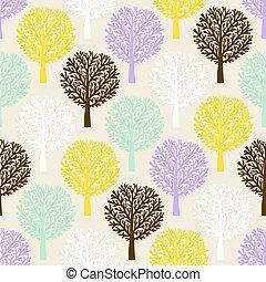 padrão, árvores
