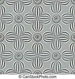 padrão, óptico, seamless, ilusão