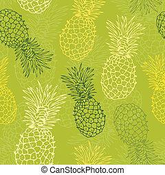 padrão, abacaxi