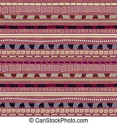 padrão, abstratos, étnico, seamless, motives, africano