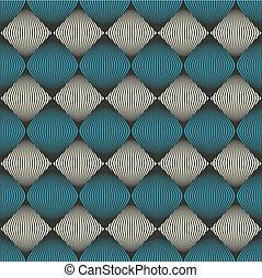 padrão, abstratos, óptico, seamless, ilusão