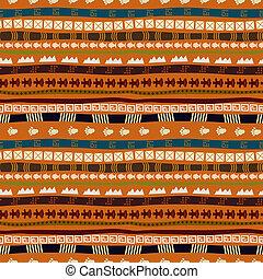 padrão, abstratos, africano, motives, étnico