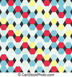 padrão, abstratos, coloridos, geomã©´ricas, fundo