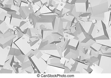 padrão, abstratos, cubos