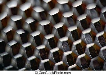 padrão, abstratos, cubos, fundo
