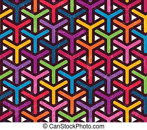padrão, abstratos, geomã©´ricas