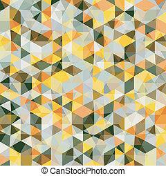 padrão, abstratos, mosaico