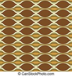 padrão, abstratos, onda, costas, seamless