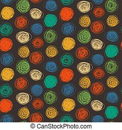padrão, abstratos, seamless, coloridos