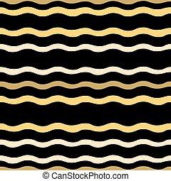 padrão, abstratos, seamless, ondas