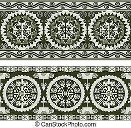 padrão, abstratos, seamless, scroll