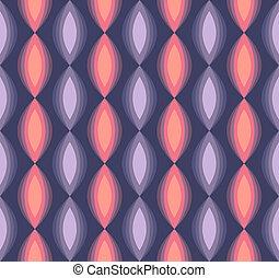 padrão, abstratos, triangulo, retro, seamless