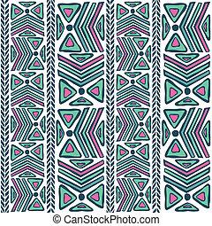 padrão, abstratos, tribal