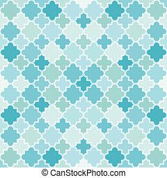 padrão, abstratos, turquesa