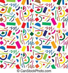 padrão, abstratos, vetorial, seamless