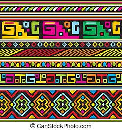 padrão, africano