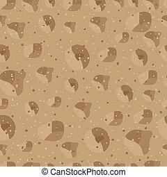 padrão, areia, seamless, 4