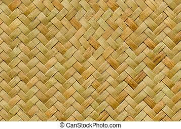 padrão, artesanato, textura, vime, fundo, tecer, natureza