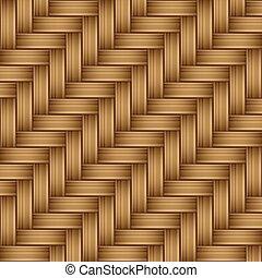padrão, bambu, madeira, seamless, textura
